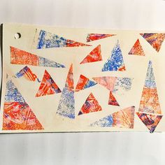 @questionable   Triangles   Collage Inspiration