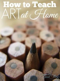 How to Teach Art at Home - Art is often overlooked in a homeschool curriculum. Learn how easy it is to implement a full art curriculum that the children will love and it can be done independently. | www.teachersofgoodthings.com