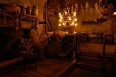 Medieval Tavern in Prague, Czech Republic.
