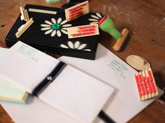 How to Make Stamped Stationery