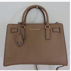 ❤️NWT Michael kors dark dune Dillon bag MSRP$298❤️ Brand new never wear before authentic 100% KORS Michael Kors Bags Satchels