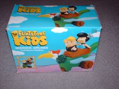 """Coleco """"The Flintstone Kids"""" Bedrock Airlines Flintstone Kids, I Have A Secret, First Animation, Preschool Toys, Airplane, Toy Chest, Playroom, Childhood, Activities"""