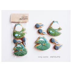 かえるアイシングクッキー #icingcookies #アイシングクッキー #クッキー #cookies #decoratedcookies #sugarcookies #sweets