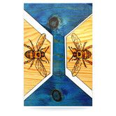 Found it at Wayfair - Bees Floating Art Panel