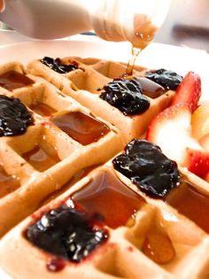 best waffles. ever. #vegan