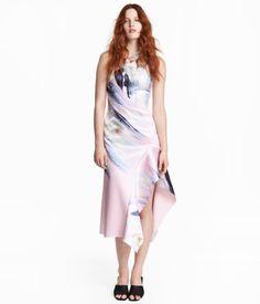 Bondad klänning   Ljusrosa/Blommig   Dam   H&M SE