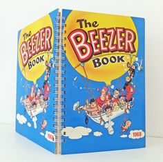 Beezer Notebook, Beezer Journal, Beezer 1968, up-cycled notebook, recycled book, eco-friendly gift for guys by PeonyandThistle on Etsy https://www.etsy.com/uk/listing/260859043/beezer-notebook-beezer-journal-beezer