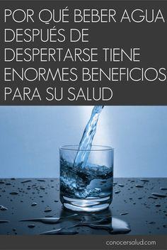 Por qué beber agua después de despertarse tiene enormes beneficios para su salud #salud