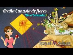 "Araña ""CANASTA DE FLORES"" (4 o 5 patas) by Nora. Los Bolillotutoriales de Raquel M. Adsuar - YouTube Bobbin Lace Patterns, Lace Making, Youtube, Crochet, How To Make, Bobbin Lace, Tricot, Stick Pins, Chrochet"
