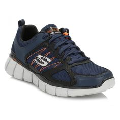 19a056884347 Skechers Mens Navy Equalizer 2.0 On Track Trainers