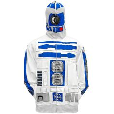 Star Wars - I Am R-2 Costume Zip Hoodie  ebed69876