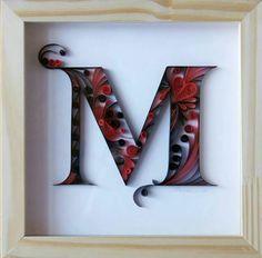 Cuadro letra M