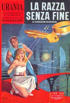 204  LA RAZZA SENZA FINE 24/5/1959  MANKING OF THE SUN  Copertina di  Carlo Jacono   GORDON DICKSON