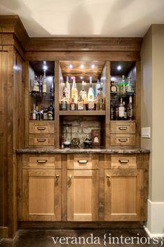 Do something like this to the bar area. veranda interiors