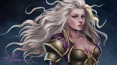 Jaina Proudmoore World of Warcraft - Digital Painting Jaina Proudmoore, Two Steps From Hell, Land Of Nod, Starcraft, World Of Warcraft, Overwatch, Fantasy Art, Game Of Thrones Characters, Photoshop