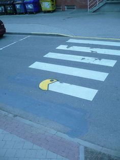 Watch out, Pac-Man's walking 'ere!