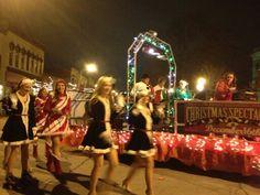 Christmas Parade float - Rockin' Rudolph.