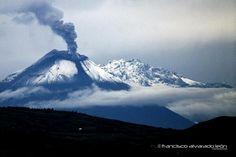 Tungurahua en erupción