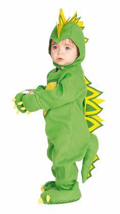 Disfraz de dinosaurio para bebé. Disponible en www.vegaoo.es