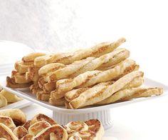 Sesame Parmesan Twists by Fine Cooking