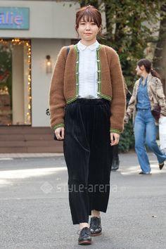 たったんさん | UNIQLO Palanco URBAN RESEARCH DOORS vintage  | 2015年11月第5週 | 代官山 | 東京ストリートスタイル | 東京のストリートファッション最新情報 | スタイルアリーナ