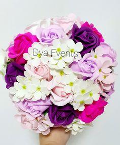 Buchet cu flori de săpun Rose, Plants, Handmade, Pink, Hand Made, Plant, Roses, Planets, Handarbeit