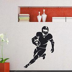 Wall Decal Vinyl Sticker Gym Sport Rugby American Football Player Decor Sb233 ElegantWallDecals http://www.amazon.com/dp/B011NJRHJS/ref=cm_sw_r_pi_dp_eDYWvb08NHCYT