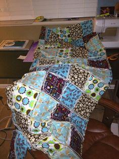 Rag Quilt - In Progress