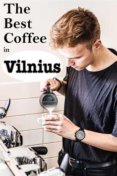 This Vilnius Cafe Guide is must-read for lovers of specialty coffee who want to drink third wave coffee in Vilnius. | Vilnius Coffee Shops | Vilnius Cafes | Specialty Coffee | Where to Drink Coffee in Vilnius