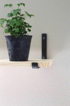 """Floating Shelves With Lip Delectable Image Of Metal Shelf Lip Bracket 55""""  Furniture  Pinterest Design Decoration"""