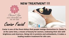 New Treatment !!! Caviar Facial Treatment !!!  Caviar is one of the finest dishes that people indulge themselves in. Caviar is, at the same time, a means of beauty for women, endowing their skin with brightness and clearness. Being rich in proteins and antioxidants, it makes a leading modern treatment for skin care.  Call for more details or book your appointment today! www.charnelspa.com or 702-808-8506  #charnelspa #caviarfacial #bestspainvegas