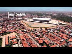Imagens captadas em março de 2013 retratam o andamento das obras da Copa do Mundo da FIFA 2014 nas 12 sedes.  - Images captured in March 2013 depicting the construction progress of the FIFA World Cup 2014 in 12 venues.