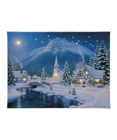 Embroidery & Cross Stitch Snow Night Diamond Painting Embroidery Diy Paint-By-Number Kit Home Wall & Garden Christmas Town, Christmas Art, Christmas Scenes, Vintage Christmas, Christmas Trimmings, Christmas Puzzle, Christmas Paintings, Winter Christmas, Christmas Decorations