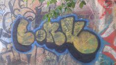 Spray paint graffiti art street art
