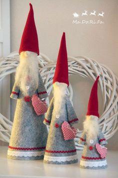Quest'anno il Natale in casa Ma.Do.Ri.Fa. si ispira al mondo handmade. Fuoriporta, decori per l'albero di Natale e oggetti per addobbare...