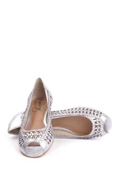 My spring 2013 shoe? -- Chatter Box Braided Flat