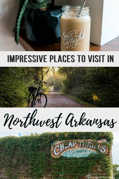 Northwest Arkansas has contagious small-town charm that will allure you after your first visit. Here you'll find many things to do in northwest Arkansas. Bentonville Arkansas, Fayetteville Arkansas, Travel Usa, Travel Tips, Travel Destinations, Arkansas Vacations, Stuff To Do, Things To Do, Fun Stuff