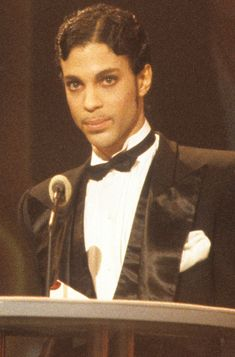 See Prince's Most Iconic Beauty Moments - Retro Finger Waves  - from InStyle.com