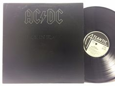 AC/DC- Back In Black, Atlantic SD 16018 RL Ludwig Masterdisk LP #Vinyl Record