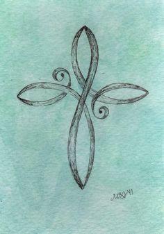 Cross Infinity Tattoos Faith Cross Tattoos and Cross Tattoo Designs Future Tattoos, New Tattoos, Tatoos, Small Tattoos, Small Cross Tattoos, Tiny Wrist Tattoos, Cross Tattoos For Women, Heart Tattoos, Family Tattoos