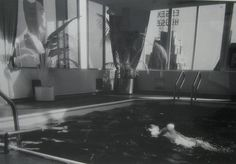 For Sale on - Swimmer - Park Meridian, Silver Gelatin Print by Paul Greenberg. Offered by PDNB Gallery. 1970s Photography, Gelatin Silver Print, Black And White Photography, Ink, Gallery, Blog, Black White, Painting, Memories