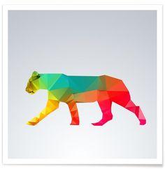 Glass Animals - Lioness - Premium Poster