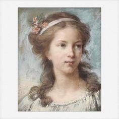 Élisabeth Vigée-Le Brun · Autoritratto all'età di sedici anni · 1771 · Collezione privata