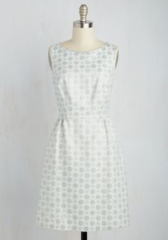 Partners in Prime Dress by Wendy Bird - Blue, Solid, Wedding, Daytime Party, Graduation, Bridesmaid, A-line, Sleeveless, Spring, Woven, Best, Exclusives, Scoop