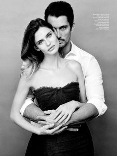 David Gandy Couple Editorial 2013