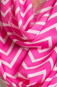 Lauren Ralph Lauren Silk Infinity Scarf   Nordstrom