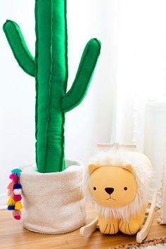 How To Make a Giant Plush Cactus   studiodiy.com