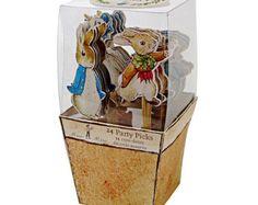 Peter Rabbit Cupcake Kit Meri Meri Beatrix by CrankyCakesShop