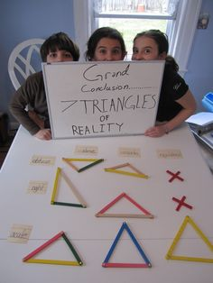 7 Triangles of Reality