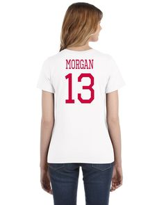 USA Don't Tread on Me Hero Tee: Alex Morgan Printed Tee